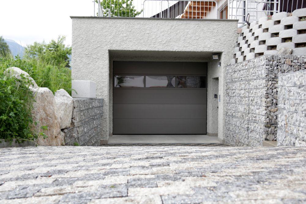 h rmann sektionaltor lpu 40 mit nebent r harrasser gmbh. Black Bedroom Furniture Sets. Home Design Ideas